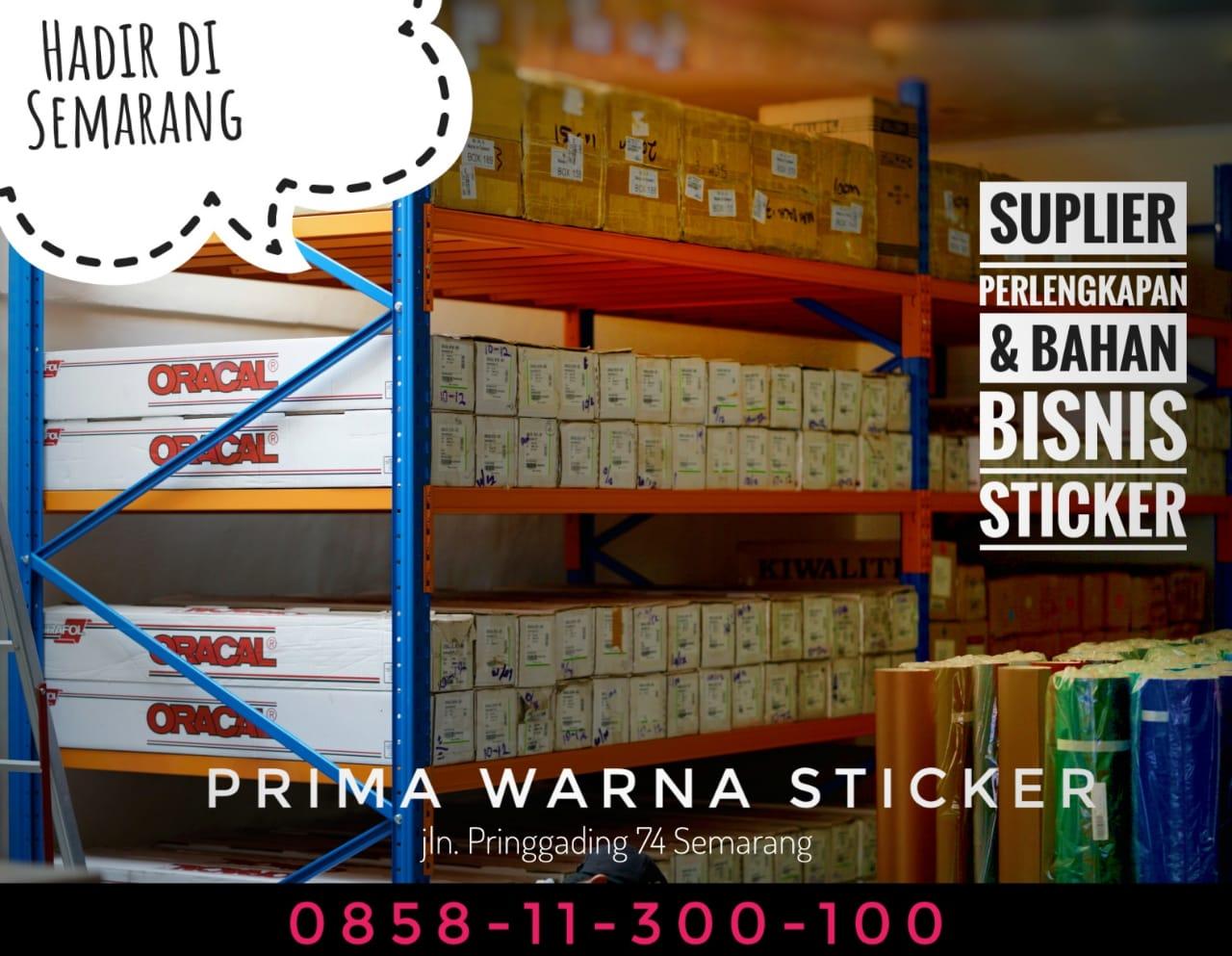 Supplier Bahan Stiker 12